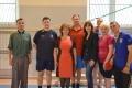В спортивном зале Таврической академии собрались любители настольного тенниса
