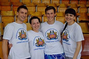 Профсоюзная организация Таврической академии завоевала на турнире по бадминтону 5 медалей из 6!!!